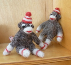 tiny sock monkeys